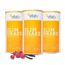 3 x Slim Shake Himbeer-Vanille (3x500g)
