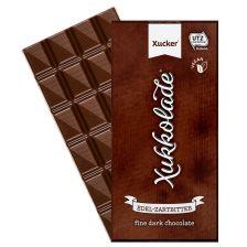 Edel-Zartbitterschokolade mit Xylit (100g)