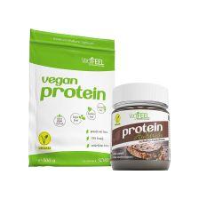 Vegan Protein Schoko (500g) + Protein AuVstrich (250g)