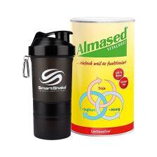 Vitalkost Laktosefrei Pulver Almased  (500g) + Smart Shaker (600ml)
