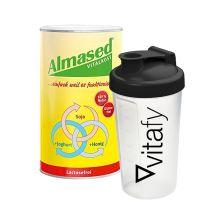 Vitalkost Laktosefrei Pulver Almased (500g) + Vitafy Shaker (600ml)