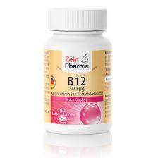 Vitamin B12 500µg (60 Lutschtabletten)