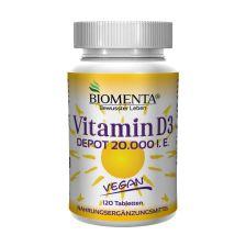 Vitamin D3 Depot 20.000 I.E. (120 Tabletten)