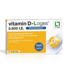 Vitamin D-loges 5.600 I.E. (30 Gel-Tabs)