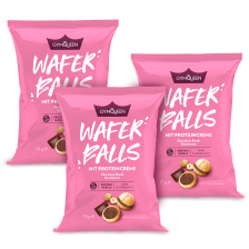 Protein Wafer Balls 3er Pack