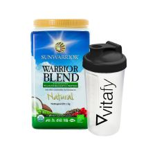 Warrior Blend Bio (1000g) + GRATIS Vitafy Shaker (600ml)