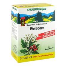 Weißdorn Naturreiner Heilpflanzensaft (3x200ml)