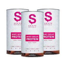 Whey Isolat Protein 3er-Set (3x600g)