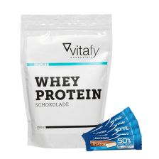 Whey Protein (1000g) + Multipower 50% Protein Bar (24x50g)