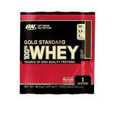 100% Whey Gold Standard - 24x30g - Doube Rich Chocolate - MHD 31.03.2019