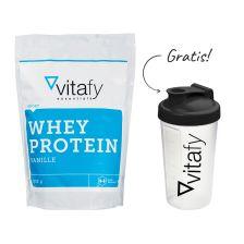 Whey Protein Essentials (1000g) + GRATIS Vitafy Shaker (600ml)