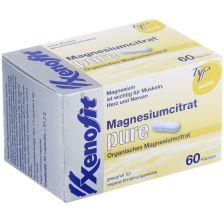 Magnesiumcitrat pure (60 capsules)