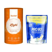 Xucker light europ. Erythrit (1000g) + Inkospor Active Pro 80 (500g)