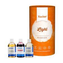Xucker light europ. Erythrit (1000g) + 3 x MyProtein FlavDrops (3x50ml)