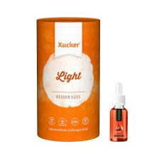 Xucker light europ. Erythrit (1000g) + 1 x Nutriful Flavor Drops (30ml)