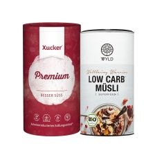 Bio Low Carb* Müsli (350g) + Xucker Premium (1000g)