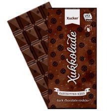 Edel-Zartbitterschokolade mit Kakaokeks (100g)
