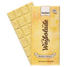 Weiße Schokolade Crunchy Coconux (100g)