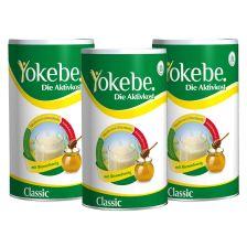 Yokebe Aktivkost Classic Dreierpack (3x480g)