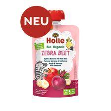 Demeter Zebra Beet - Pouchy Apfel & Banane mit Rote Bete, ab dem 6. Monat (100g)
