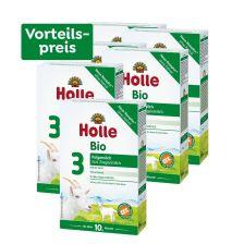 6 x Bio-Folgemilch 3 auf Ziegenmilchbasis, Vorteilspack, ab dem 10. Monat (6x400g)