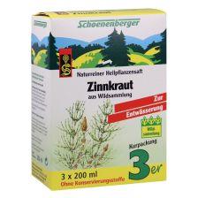 Zinnkraut Naturreiner Heilpflanzensaft (3x200ml)