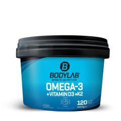Omega-3 + Vitamin D3 + K2 Extreme (120 Kapseln)