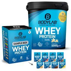 Whey Protein 1000g + Whey Sample Box (8x30g)