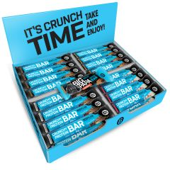 Crunchy Protein Bar MIX BOX (32x64g) + 1 GRATIS BIG PAPA Protein Bar Extreme
