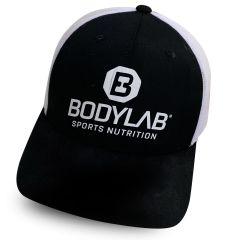 Trucker Cap schwarz/weiß mit Bodylab Logo