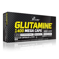 Glutamine Mega Caps 1400 (120 Kapseln)