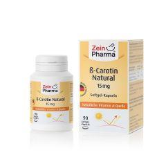 Beta Carotin Natural 15 mg (90 capsules)