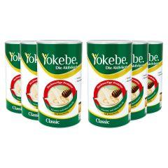 Yokebe Aktivkost Classic Sechserpack (6x500g)