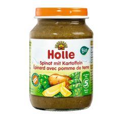 Spinat mit Kartoffeln - 190g - Bio, ab dem 5. Monat