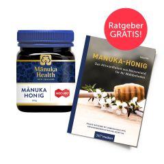 Manuka Honig MGO 400+ (250g) mit Manuka-Ratgeber gratis