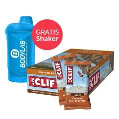 Clif Bar (12x68g) + Bodylab 24 Shaker gratis