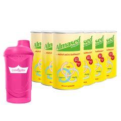 6 x Vitalkost Pulver Almased (6x500g) + Shaker gratis