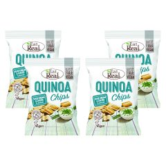 4 x Quinoa Chips Sour Cream & Chives (4x113g)