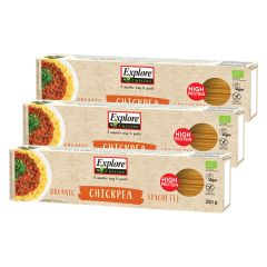 3 x Spaghetti aus Kichererbsen bio (3x250g)