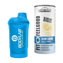 Fit+Feelgood Meal Replacement SLIM (396g) + Bodylab 24 Shaker