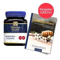 Manuka Honig MGO 250+ (1000g) mit Manuka-Ratgeber gratis
