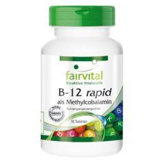 B-12 rapid als Methylcobalamin (90 Tabletten)