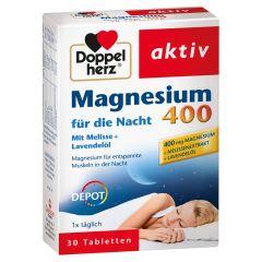 Magnesium 400 für die Nacht (30 Tabletten)
