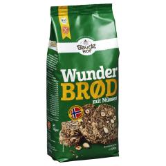 Bio Backmischung Wunderbrød mit Nüssen (600g)