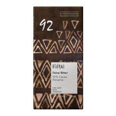 Cacao 92% Feine Bitter Schokolade Panama bio (80g)