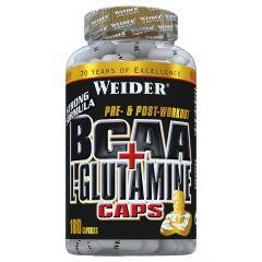 BCAA + L-Glutamine (180 caps)