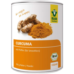 Curcuma mit Pfeffer bio (100g)