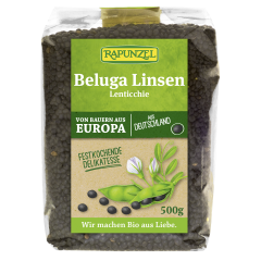 Beluga Linsen schwarz bio (500g)