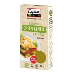 Lasagne aus grünen Linsen bio (250g)