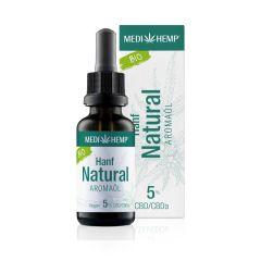 Bio Hanf Natural Aromaöl 5% CBD (30ml)